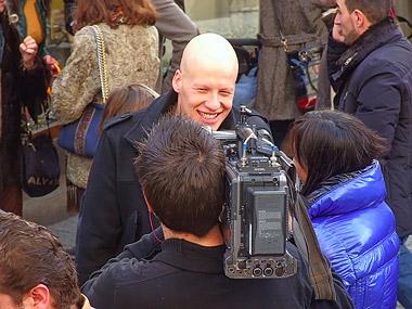 Bruno Modrón, Presidente de la Peña