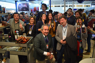 Expositores de la provincia de Burgos