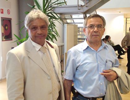 Dr. Lescayllers (dcha.) y Dr.Atfe
