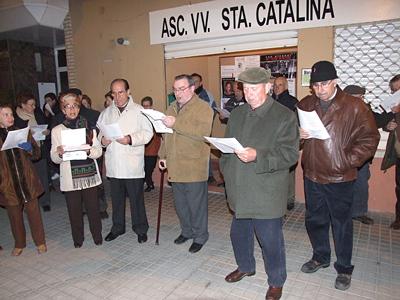 Marzas 2009 en el Barrio de Santa Catalina