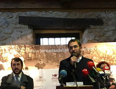 Máxim Huerta dió el pistoletazo de salida a las Jornadas de la Matanza
