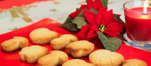 Mantecados en Navidad
