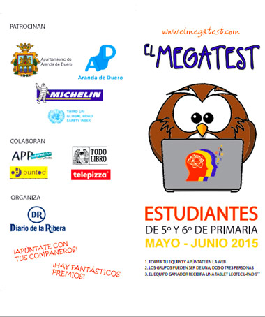 Edición 2015 del Megatest