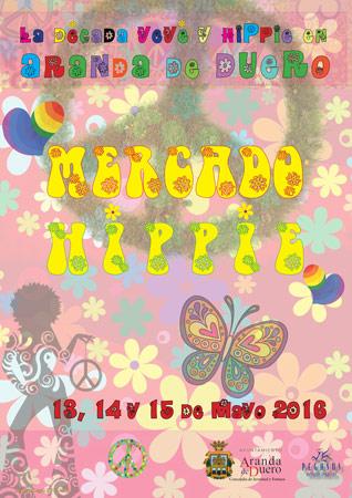 """Mercado """"La década yeye y hippie en Aranda"""""""