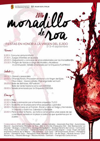 Fiestas de Moradillo de Roa en honor a la Virgen de Ejido