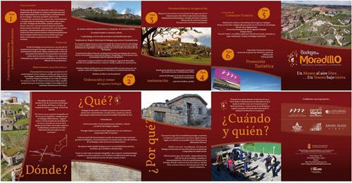 Folleto informativo Bodegas Moradillo de Roa para Ar&Pa