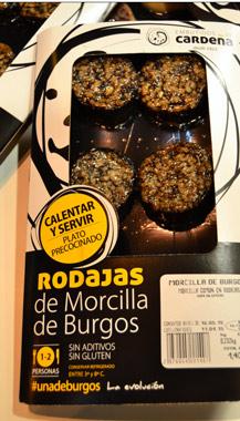 Rodajas de Morcilla de Burgos