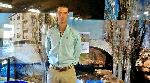 Fotografía: Javier Marqués | Morenito de Aranda en su comparecencia ante la prensa