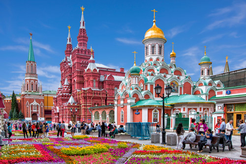 La capital Rusa en otoño