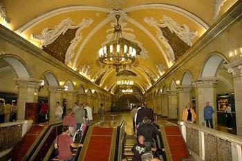 Palacio subterráneo de Moscú