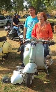 En el certamen se dan cita motos de todas las edades y generaciones