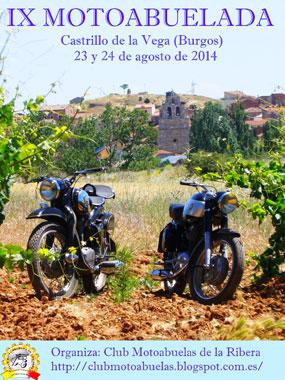 IX Motoabuelada en Castrillo de la Vega