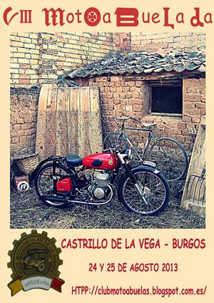 Cartel de las Motoabuelas 2013