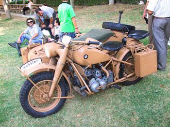 BMW de los años 40 procedente de los África korps