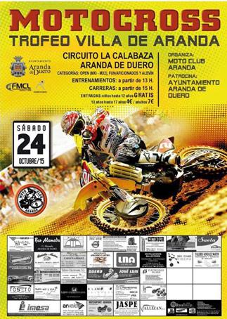 Motocross: Trofeo Villa de Aranda