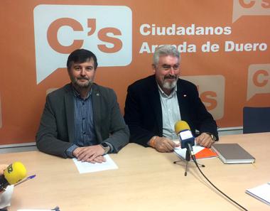 Francisco Javier Martín y José Ignacio Delgado