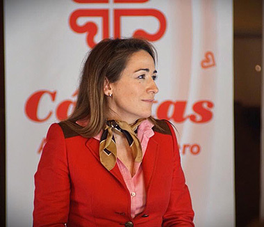 Nuria Peña, moderadora de la ponencia sobre Coworking
