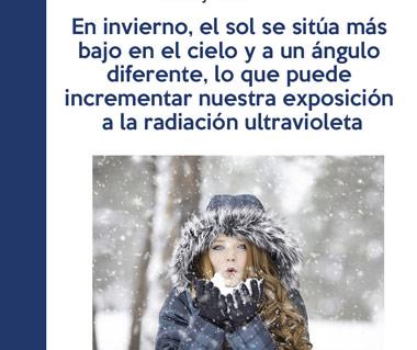 Problemas oculares ante la falta de protección frente al frío