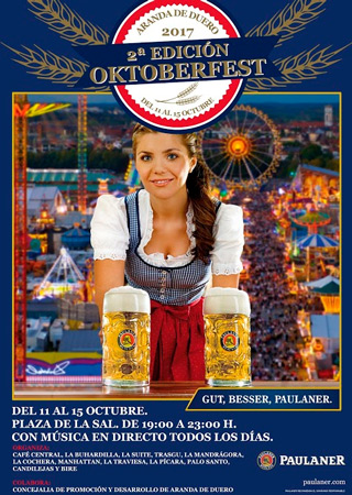 II Edición de la Oktoberfest en Aranda de Duero