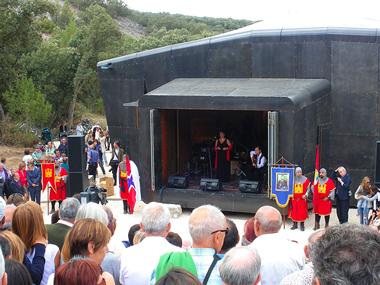 Acto de inauguración de la Capilla