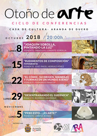 """Ciclo de Conferencias """"Otoño de Arte"""""""