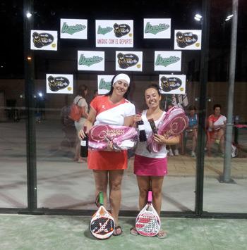 Ganadoras de la competición femenina