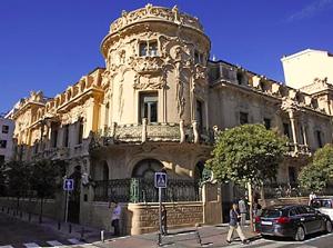 Uno de los palacios de la SGAE