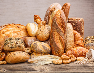 El pan es un producto básico en la dieta diaria
