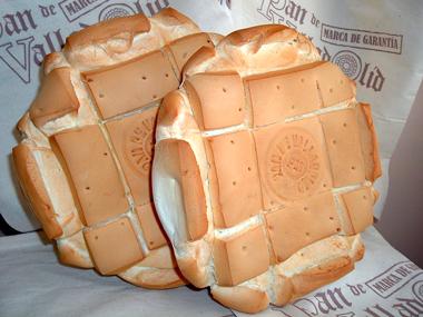 Pan de cuatro canteros