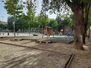 Parque Príncipe de Asturias | El Parque de las ruedas construido por los vecinos