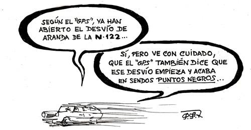 Ilustraciones de D.Pedro Félix García | El Desvío de la N-122