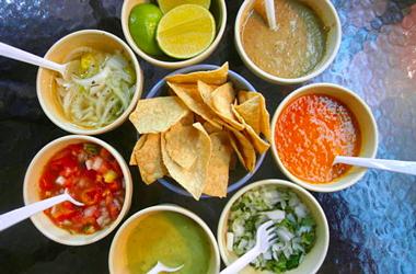 Comida picante de México