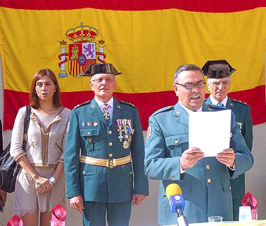Actos de Celebración en la Fiesta del Pilar 2013 en Aranda de Duero