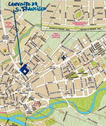 Plano del Convento (Click para agrandar)