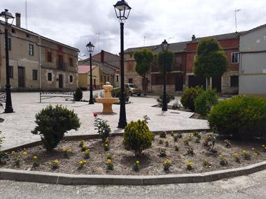 Plaza deshabitada