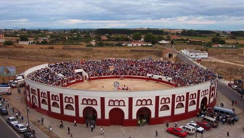 La Chata: antigua Plaza de Toros