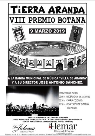 Cartel Premio Botana 2019
