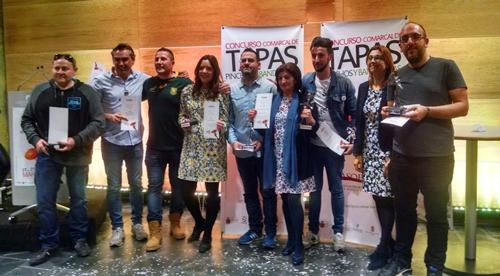 Ganadores del concurso de Tapas Pinchos y Banderillas 2017