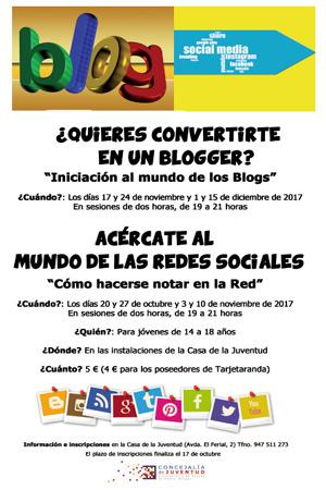 Talleres de Redes Sociales y Blog