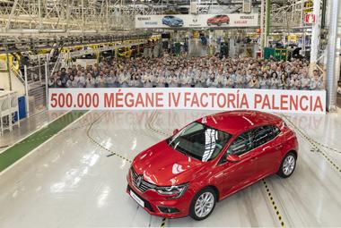 Factoría de Renault en Palencia