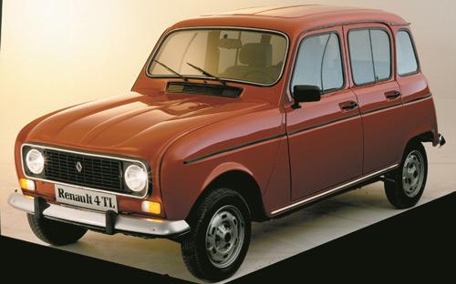 El Renault 4L se fabricó en España desde 1964 hasta 1989