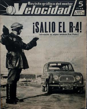 Foto de Dámaso Freire en portada de la revista 'Velocidad'