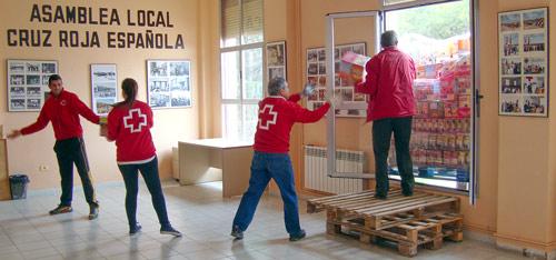 Fotografía: Cruz Roja Española | Descarga de Alimentos.