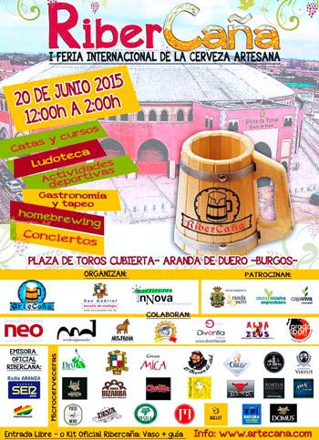 Feria Internacional de la Cerveza Artesana de Aranda de Duero