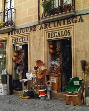 Comercio tradicional en Aranda de Duero