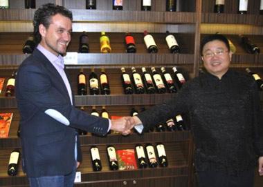 El vino de Aranda de Duero ya está en China