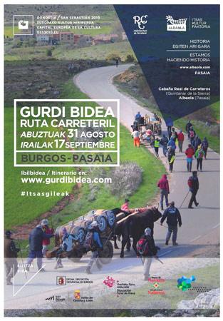 Ruta Carreteril desde Burgos a Pasaia