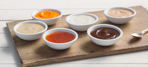 Salsas emulsionadas