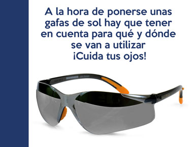 Importante conocer los filtros de sus gafas de sol
