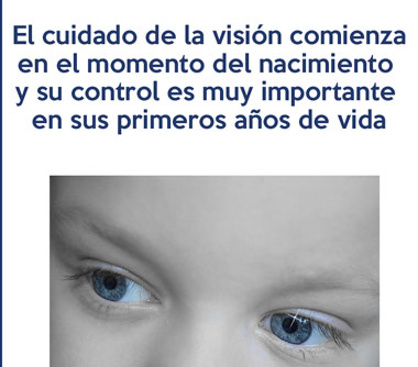 Una buena visión en la infancia mejora el desarrollo social y educacional